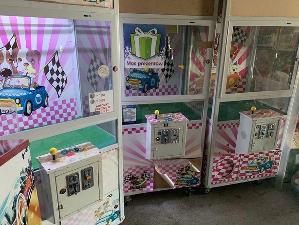 Automat zarobkowy łapacz maskotek
