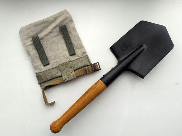 Саперная лопата с чехлом. МПЛ МСЛ 50 Военная лопатка + подсумок