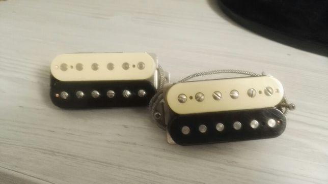 Звукосниматели Seymour Duncan APH-2S Zebra Slash Signature на Gibson