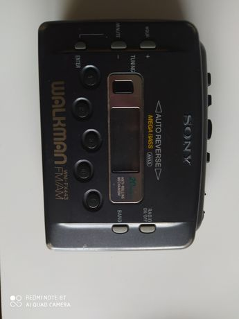 Sony WALKMAN WM-FX443 na kasety mega bass retro Vintage auto reverse
