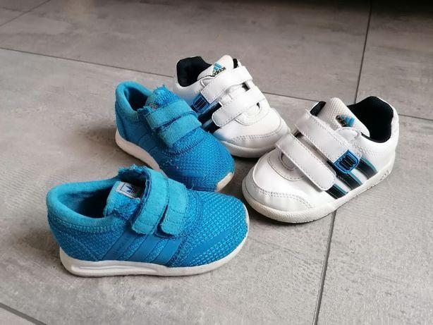 2 pary buciki sportowe Adidas dla chlopca roz. 21