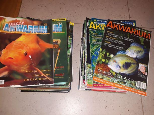 Sprzedam czasopisma akwarystyczne