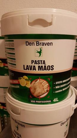 Massa / Pasta Lava Mãos 4 Lt