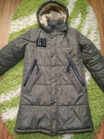 Куртка парка зима подросток