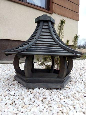 Duży Karmnik Domek dla ptaków Drewno  XL