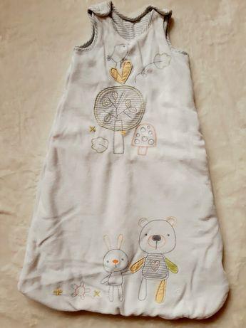 Детский спальник, кокон, мешок, конверт для сна 3-9 м