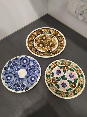 ZP KOŁO ozdobne talerze ścienne 3 sztuki