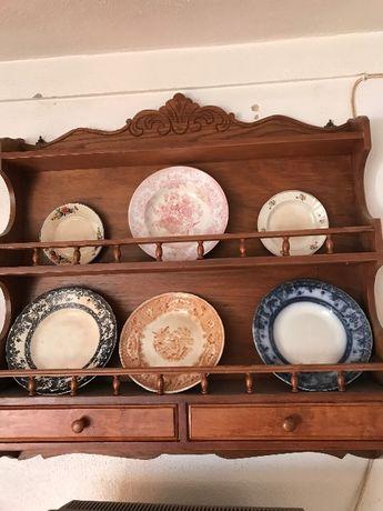 Pratos antigos- loiça sacavém