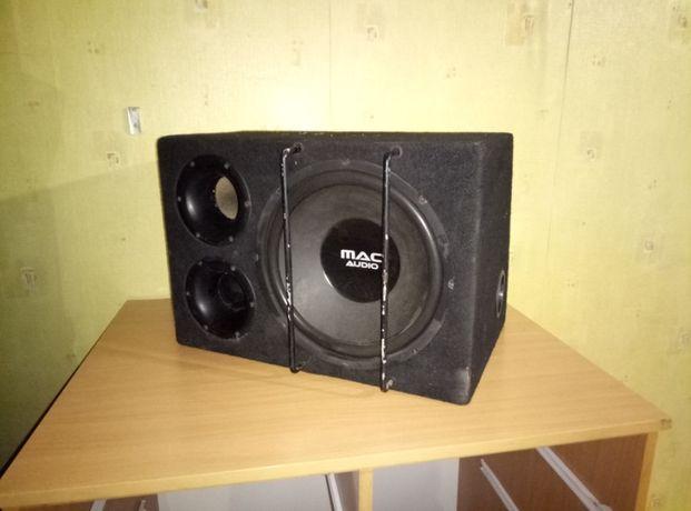 Сабвуфер Mac Audio Box 12 VS номинальная: 200 Вт максимальная: 400 Вт