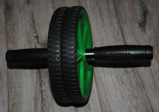 Тренажер колесо, ролик для пресса+ 2 коврика каремата для спорт отдыха
