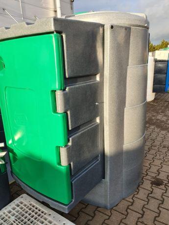 Zbiornik do paliwa 1600l dwupłaszczowy duża szafa