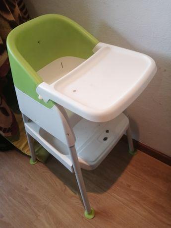 Cadeira de bebé com apoio