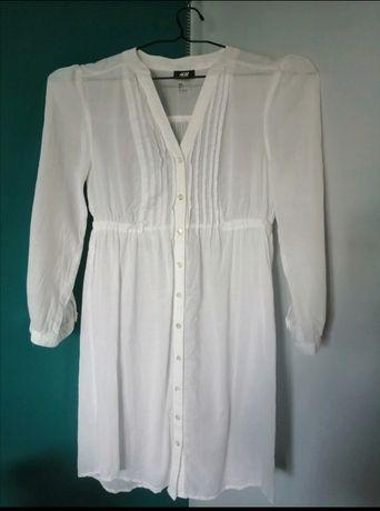Tunika biała damska H&M 34