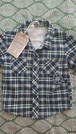 Детские  рубашки от 18 месяцев