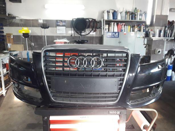 Zderzak przód Audi A6 C6 2011r czarny