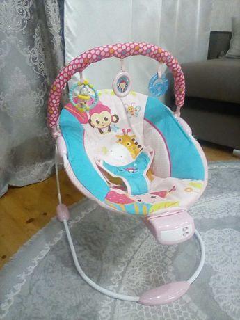 Шезлонг дитячий кріслокачалка