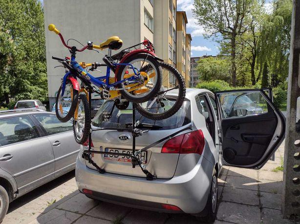 Bagażnik Stojak Na 3 Rowery Na Klapę Samochodu - Oryginalny Z Atestem