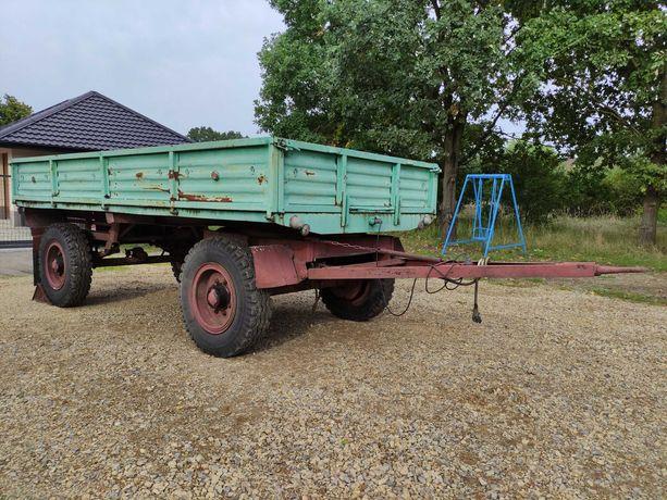 Przyczepa rolnicza Sanok D-50 , Autosan SZTYWNA