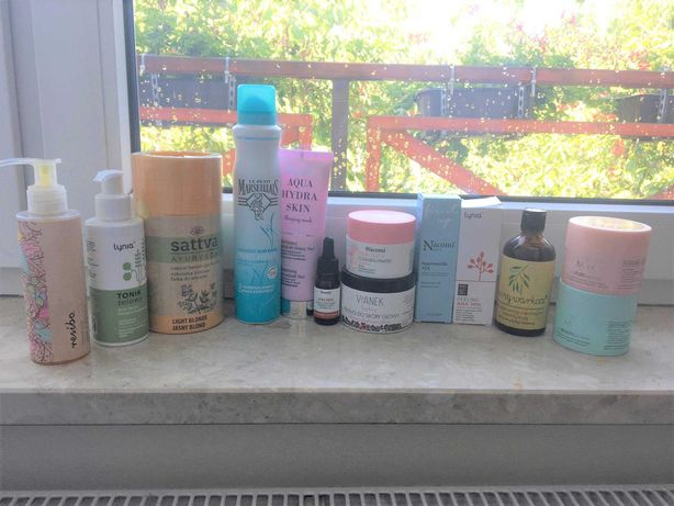 Zestaw kosmetyków Nacomi Resibo Miya i więcej - nowe i używane