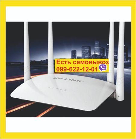 Роутер Вайфай WiFi LB-LINK BL-WR450H 300 Мбит/с. 4 антенны Роутэр