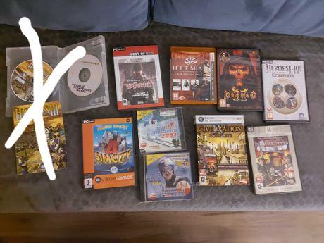 Gry PC DVD różne