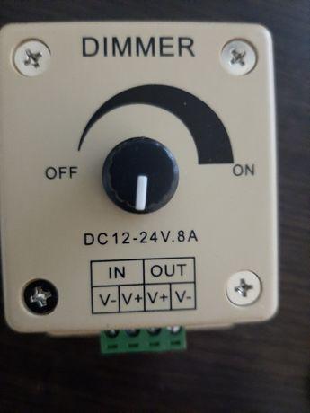 Регулятор напряжения 12-24 вольта,постоянного тока.Диммер.