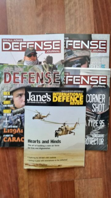 Small Arms Defence Journal i Jane`s International Defence Review