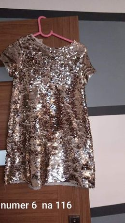 Sukienki dla dziewczynki 110-140