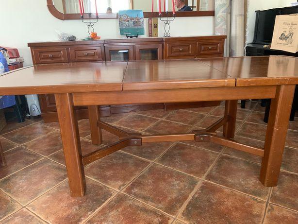 Mesa + cadeiras sala de jantar