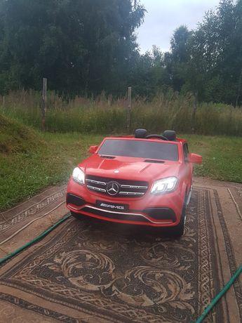 Autko na akumulator Mercedes GLS 63 AMG dwuosobowy na licencji mocny