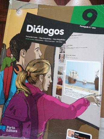 Diálogos 9°ano, Manual Da Porto Editora