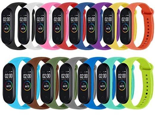 Pulseiras Xiaomi Mi Band 4 e 3 - 15 pulseiras