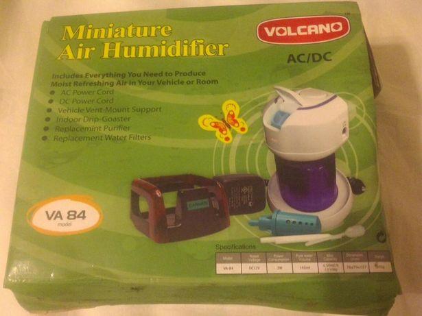 Ультрозвуковой увлажнитель воздуха волкано VA 84 для авто и для дома
