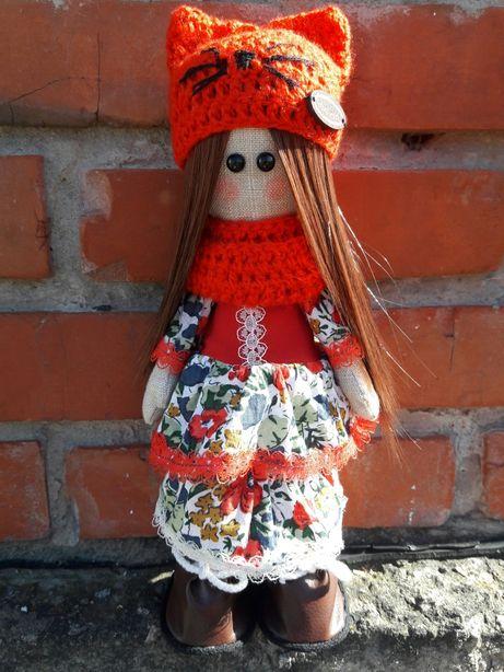 Акция.Интерьерная текстильная кукла Тильда