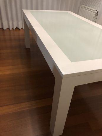 Mesa sala jantar com vidro temperado