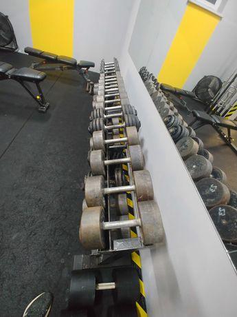 hantle zestaw stojak GRATIS ! 700kg