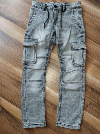 Spodnie dresowe jak jeans Lupilu r. 134