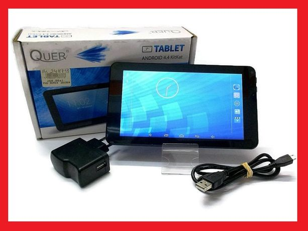 NOWY Tablet Quer Tablet PC 7'' Cortex A7, 512 MB RAM, 4 GB WIFI czarny