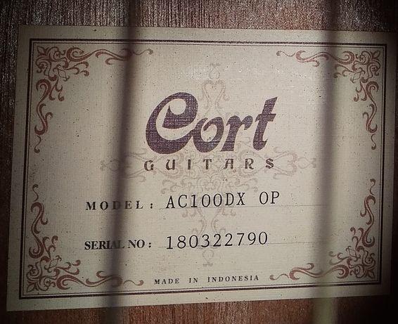 Гитара классическая CORT AC100 DX OP