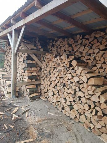Drewno kominkowe cięte i w metrach Pelplin- Transport z HDS Gratis