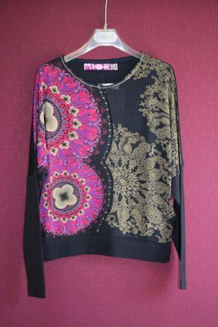 Новый свитшот реглан свитер Desigual (Испания) р.128