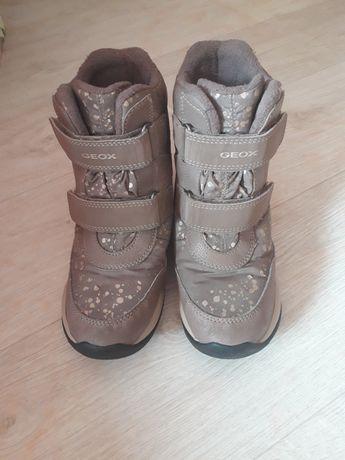 Зимние детские сапоги,ботинки geox 30-31