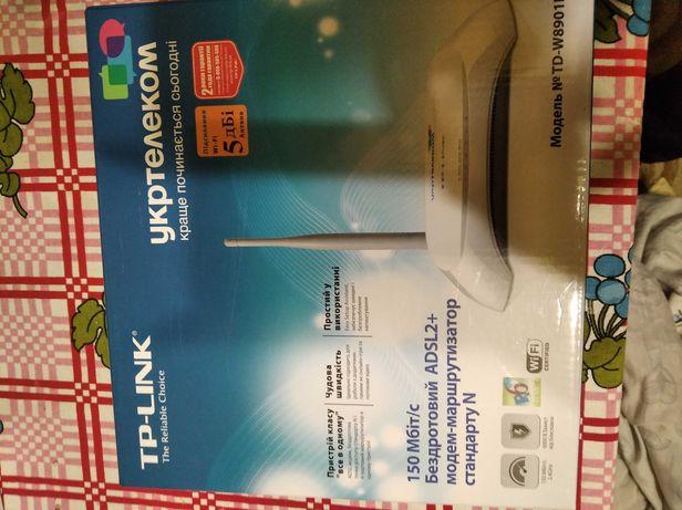 TP-LINK  ADSL2+  Укртелеком.