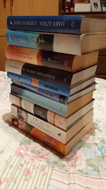 10 książek w bardzo dobrym stanie