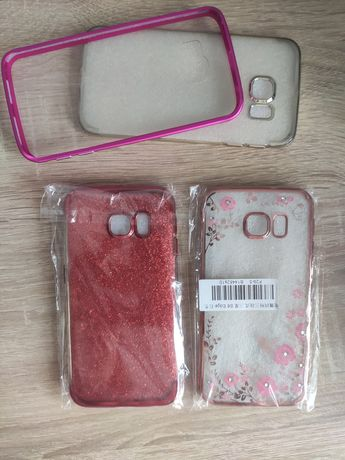 Zestaw etui case na telefon SAMSUNG Galaxy S6 Edge