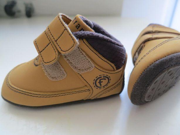Buciki buty niechodki skórzane Firetrap r. 16