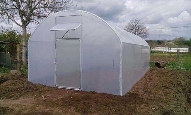 fabrico e montagem estufas agrícolas domesticas Horticulturas