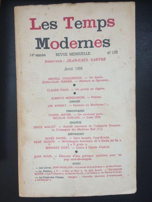 Les Temps Modernes dir. Sartre Bonfim - imagem 1