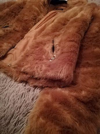 Casaco de pêlo camel oferta de portes