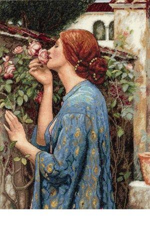 Продам схему Dimensions 35210 Запах (душа) розы